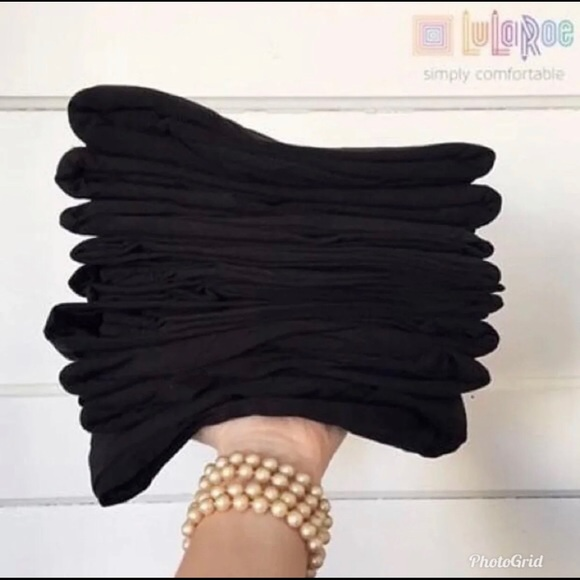 Lularoe black leggings TC NEW NWT Solid Black TC Fast Shipping !!